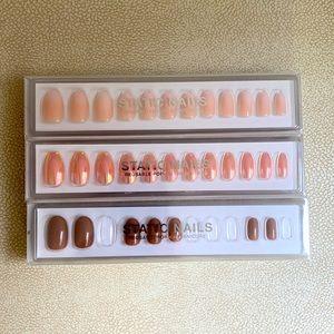 Static nails (set of 3)